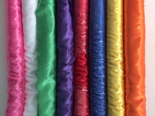 tela raso para decoracion e indumentaria