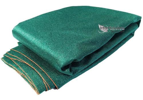 tela sombrite decorativa 90% verde - 4 metros x 20 metros