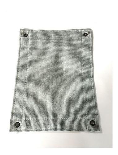 tela sombrite prata 90%  5m x 8mts com bainha e ilhós