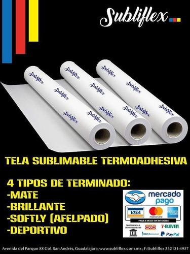 tela sublimable termoadhesivo subliflex