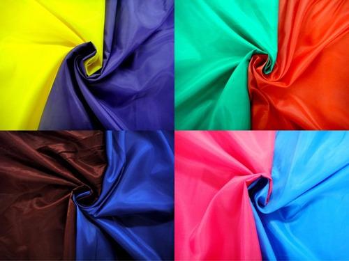tela tafeta vestidos forros decoración rollo de 100mts