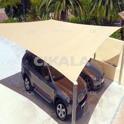 tela toldo sombreamento areia shade quadrada multiuso 3x3 mt