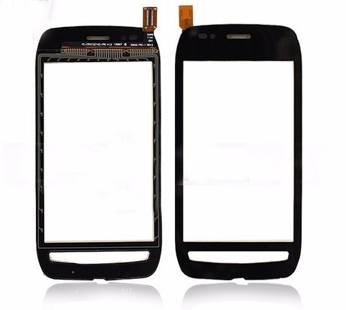 tela toque touch screen digitizer nokia lumia n710 preto