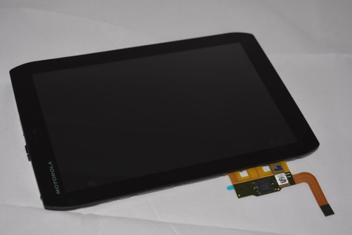 tela touch 8.2 tablet motorola xoom 2 mz607 mz608 + brinde