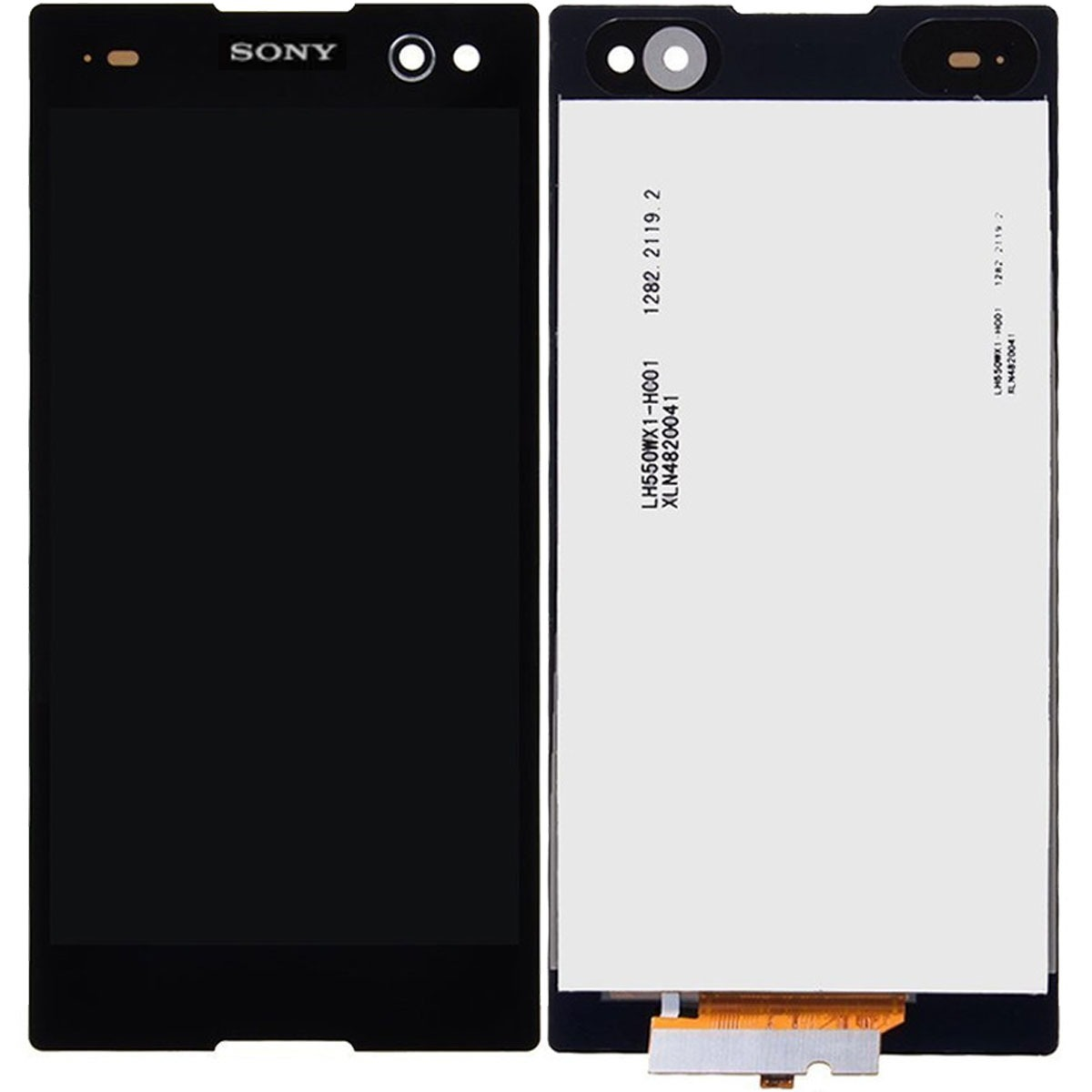 Tela touch display lcd frontal sony xperia c3 d2502 d2533 r 184 carregando zoom reheart Gallery