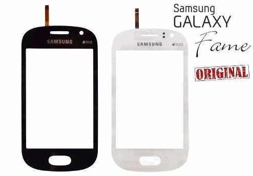tela touch display lcd galaxy fame duos s6810 6812 - td0008