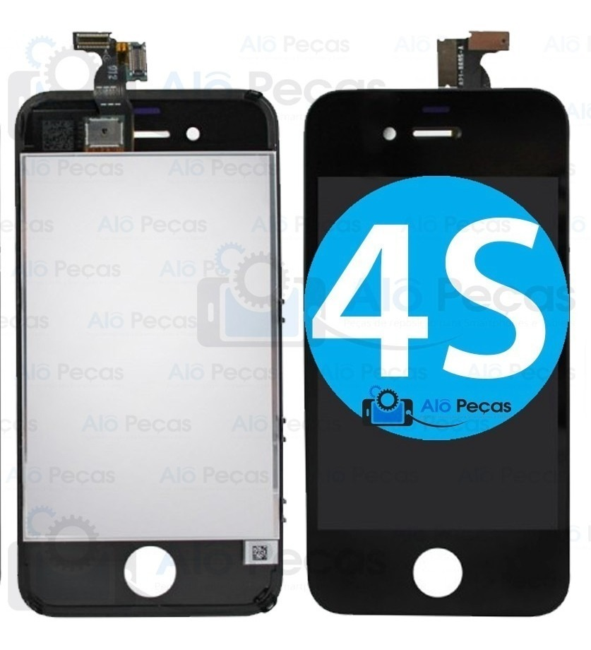 best sneakers e7215 19a35 Tela Touch Display Lcd iPhone 4s Original A1387 A1431 Brinde