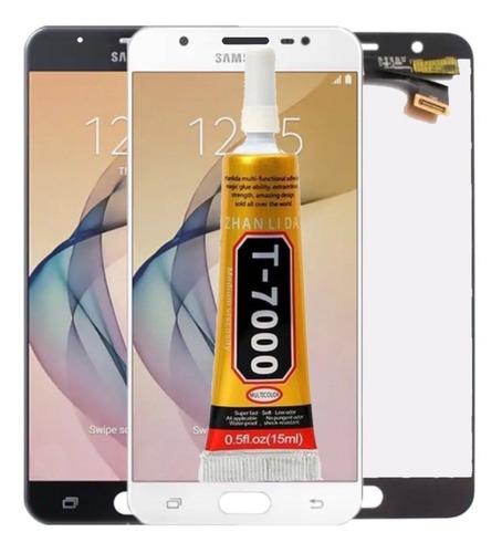 tela touch display lcd j7 prime g610 g610m + cola + película