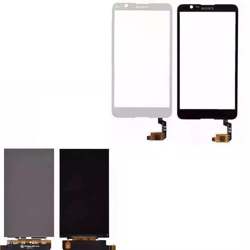 tela touch + display lcd sony xperia e4 e2124 e2104 + fita