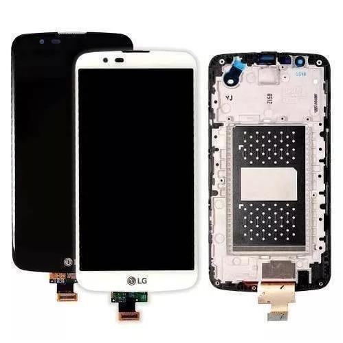 tela touch display lg k10 4g dual k430tv com aro sem ci
