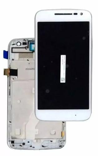 tela touch display motorola moto g4 play xt1603 xt1600 c/aro