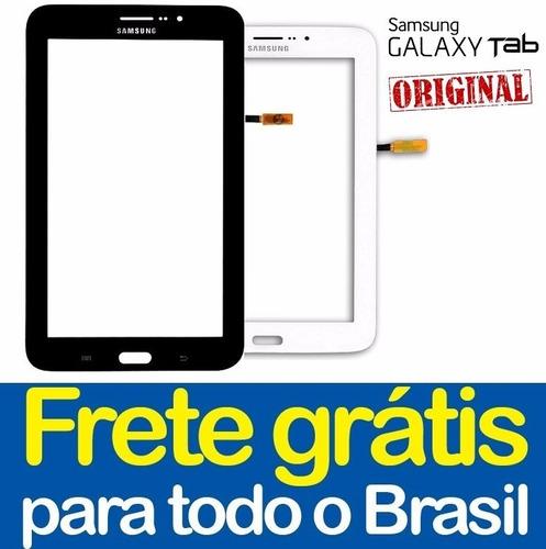 tela touch galaxy tab e t116 7 pol 100% original + cola