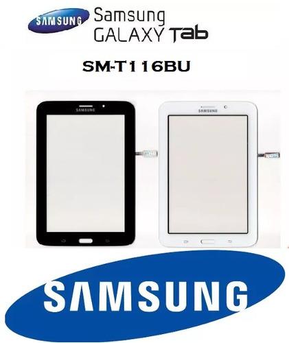 tela touch galaxy tablet tab e t116bu sm-t116bu 7 polegadas