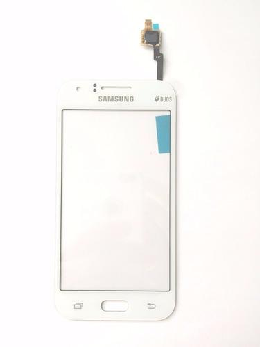 tela touch p/celular samsung sm-j100 galaxy j1 branco origin
