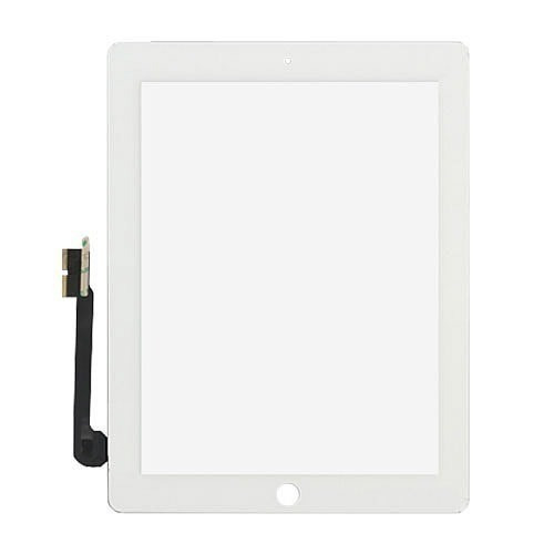 tela touch screen ipad 3 - branca
