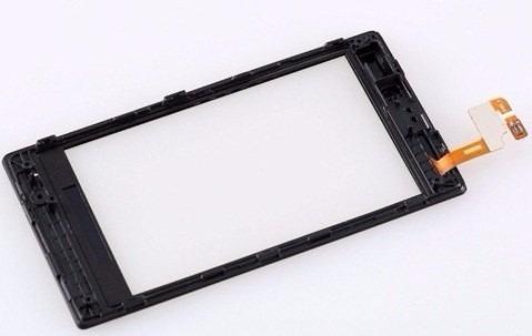 tela touch screen nokia lumia 520/520.2 + aro + frete gratis