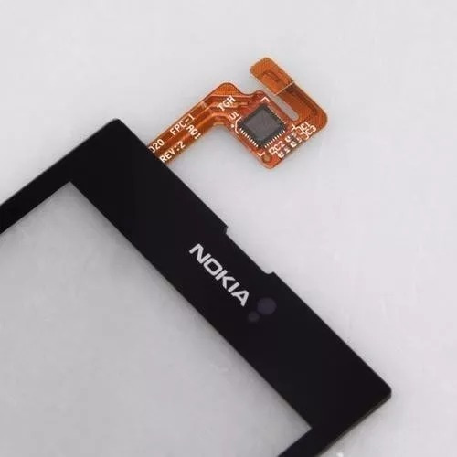 tela touch screen  nokia lumia 520/520.2 com adesivo