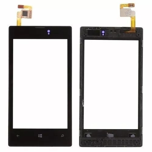 tela touch screen nokia lumia n520 520.2 original com aro