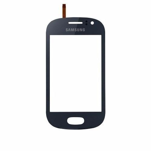 tela touch screen samsung s6810 s6812 galaxy fame azul