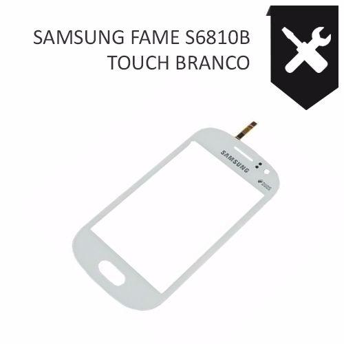 tela touch screen samsung s6810 s6812 galaxy fame original