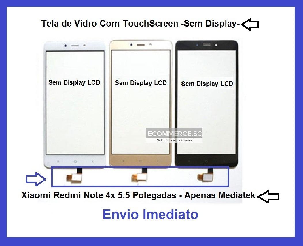 Tela Touch Screen Vidro Xiaomi Redmi Note 4 E 4x Garantia R 5989 Touchscreen Carregando Zoom