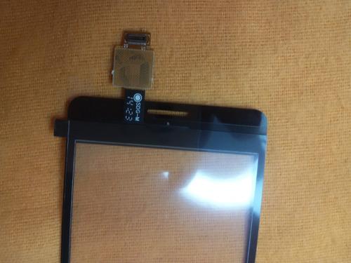 tela touch sony xperia e1 d2114  2014 preto