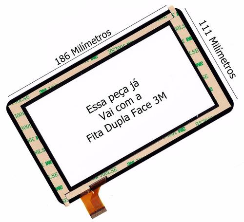 c8acbe0db Tela Touch Tablet Cce Tr72 Motion Original - Pronta Entrega - R  24 ...