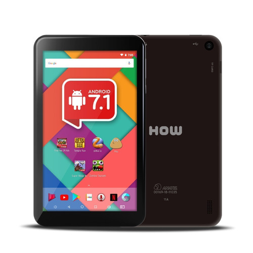 tela touch tablet how max quad ht-705 ht 705 11a exclusivo