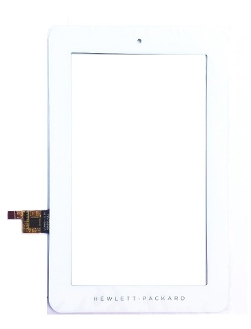 tela touch tablet hp 1201br 7.1 polegadas branco original