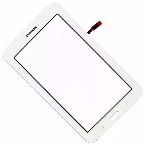 Tela Touch Vidro Samsung Galaxy Tab 3 Lite Wi Fi T110 Branco