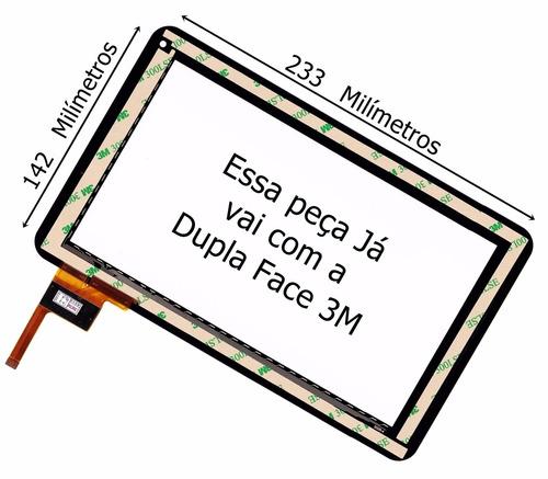 tela touch vidro tablet cce tr91 tr 91 9 polegadas temos lcd