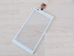 tela touch vidro xperia l c2104 sony original preto e branco