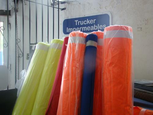 tela trucker impermeable (tela para camperas)