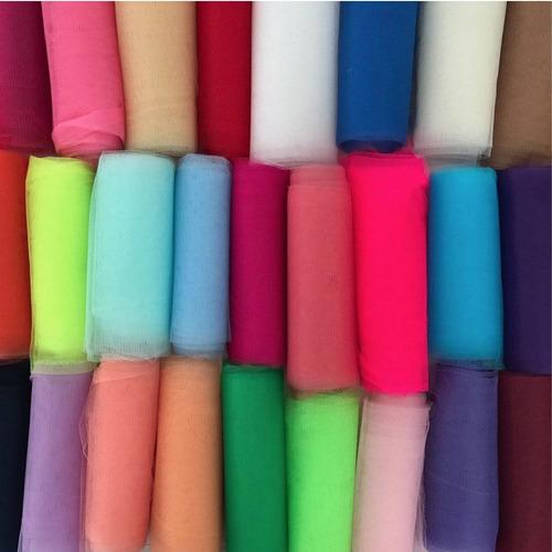 tela tul por metro 1.40 ancho varios colores!