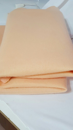 tela velour bondeado color piel 1.50 mtrs de ancho