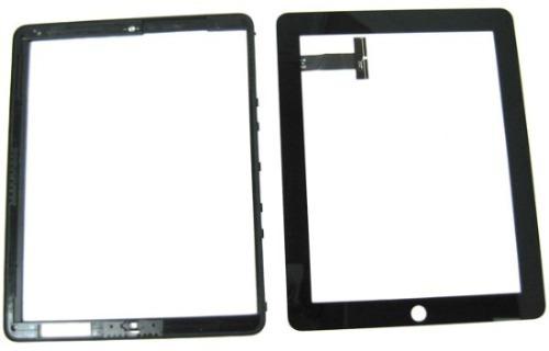 tela vidro c/ touch ipad 2 ipad 1 glass original display