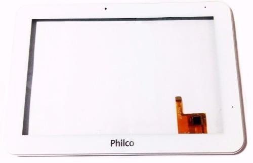 tela vidro + display tablet philco 10.1 worktab q10 branco