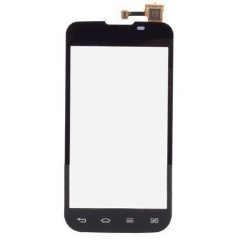 tela vidro lente touch screen celular lg e455f optimus l5 2