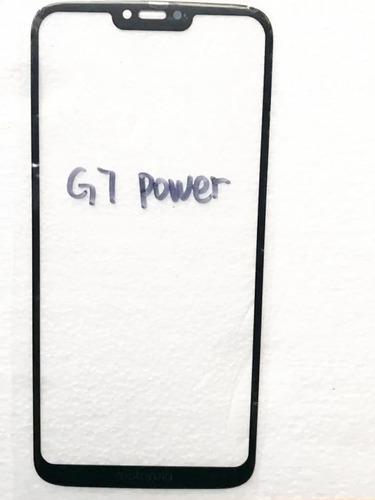 tela vidro moto g7 power sem display