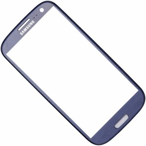 tela vidro s3 samsung galaxy i9300 azul lente visor