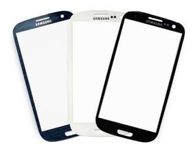 Tela Vidro Samsung Galaxy S3 Gt-i9300 Azul, Preto Ou Branco