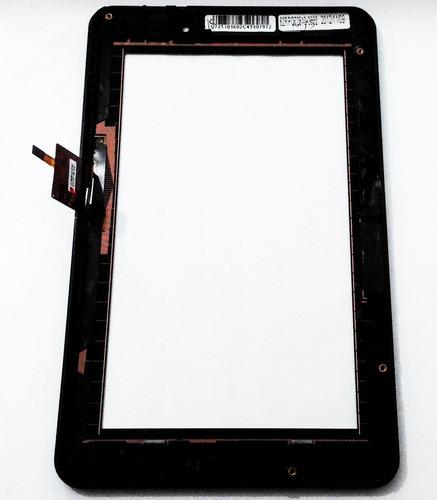 tela vidro touch + aro tablet positivo ypy 07ftb 7 polegadas