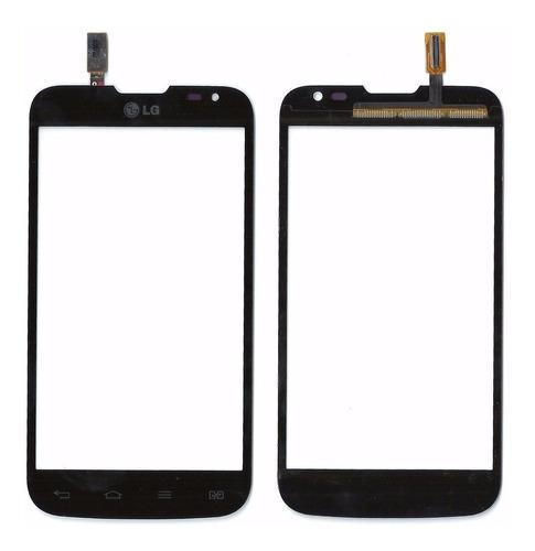 tela vidro touch screen lg l70 d325f8 d340 preto