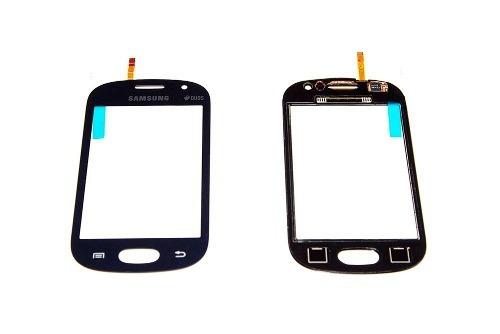 tela vidro touch screen samsung galaxy fame s6810 s6812