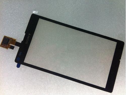 tela vidro touch sony xperia l c2104 frete gratis