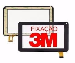 tela vidro touch tablet dl pis-t71 / pis-t71pin 7 original