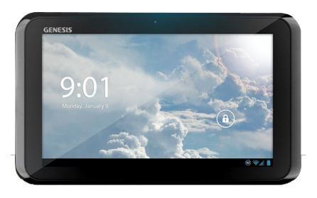 tela vidro touch tablet genesis gt-7204 preto 7