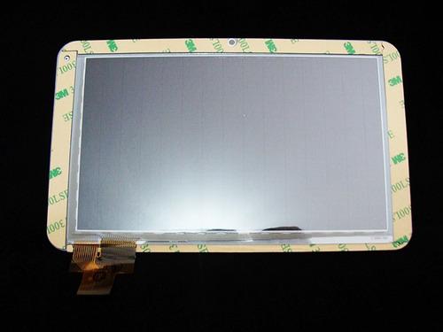 tela vidro touch tablet genesis gt-7301 original branco