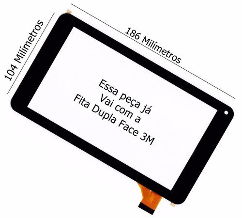 tela vidro touch tablet how max quad a0011 minions original
