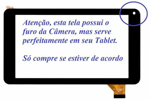 tela vidro touch tablet how max quad a0011 minions - tc0087
